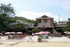 Piękna miejscowego Samet Tajlandia plaża fotografia stock