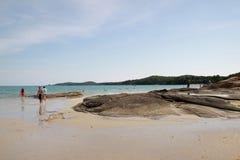 Piękna miejscowego Samet Tajlandia plaża Obraz Royalty Free