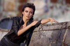piękna mody portret zdjęcie royalty free