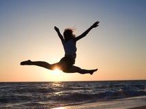 piękna morza kobieta zdjęcie stock