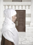 piękna muzułmańska kobieta Zdjęcia Royalty Free