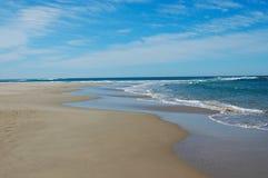 piękna na plaży Zdjęcia Royalty Free