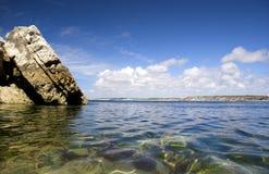 piękna na plaży Fotografia Royalty Free