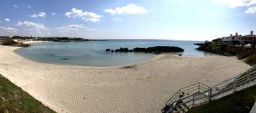 piękna na plaży Obraz Royalty Free