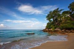 piękna na plaży tropikalny obraz stock