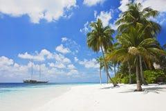 piękna na plaży tropikalny obraz royalty free