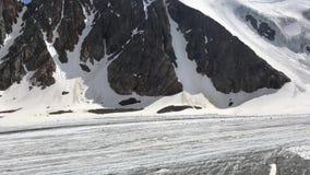 Piękna natura halny Altai góry i wzgórza z góry piękna natura Altai wideo od telefonu zdjęcie wideo