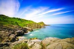 Piękna natura i plateau przy górą Obraz Royalty Free