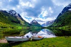 Piękna natura Norwegia Obraz Royalty Free