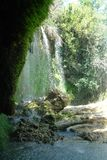 piękna natury Siklawa Kurshunlu w naturalnym parku zdjęcie stock