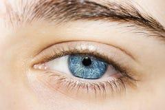 piękna niebieskie oko chłopiec Obraz Stock