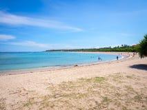 Piękna Nusa Dua Bali plaża Zdjęcie Royalty Free