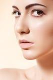 piękna opieki twarzy żeńscy zdrowie skin zdroju wellness Obrazy Stock