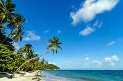 Piękna Opustoszała plaża Fotografia Stock