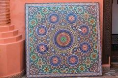 Piękna ornamentacyjna dekoracja Zdjęcia Stock