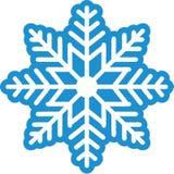 Piękna płatek śniegu zima ilustracji
