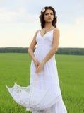 Piękna panna młoda Zdjęcia Royalty Free