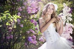 Piękna panna młoda Obrazy Royalty Free