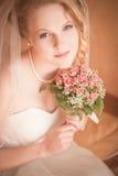 piękna panna młoda portret Fotografia Stock