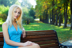 piękna parkowi kobiety potomstwa obrazy royalty free