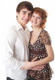 piękna pary potomstwa Zdjęcie Royalty Free