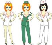 piękna pielęgniarka Obrazy Royalty Free