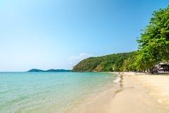 Piękna plaża fotografia royalty free