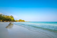Piękna plaża zdjęcia royalty free
