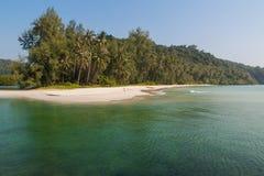 Piękna plaża, Kho Kood wyspa, Tajlandia Zdjęcia Stock