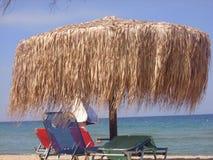 Piękna plaża na wyspie Thasos Obrazy Royalty Free