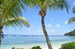 Piękna plaża Seychelles Obrazy Stock