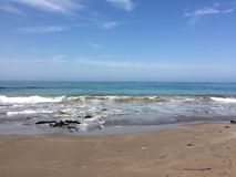 Piękna plaża w Iquique Obraz Royalty Free