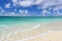 Piękna plaża w Okinawa Fotografia Stock