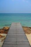 Piękna plażowa Munnork wyspa, Tajlandia Zdjęcie Royalty Free