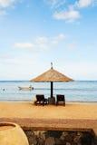 piękna plażowy gazebo zdjęcia royalty free