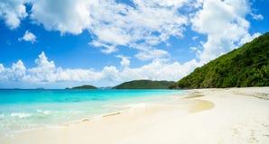 piękna plażowy karaibów Obrazy Royalty Free