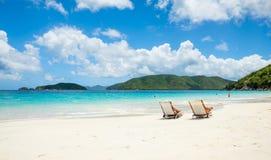 piękna plażowy karaibów Fotografia Stock