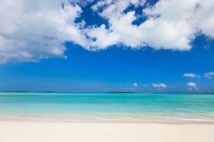 piękna plażowy karaibów Fotografia Royalty Free