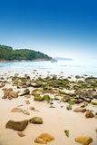 piękna plażowy Phuket karon widok Obraz Stock