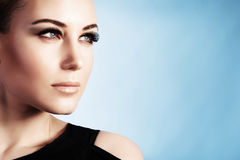 piękna portret kobiety obraz royalty free