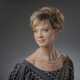 piękna portret kobiety naturalne piękno Fotografia Royalty Free