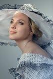 piękna portret kobiety naturalne piękno Zdjęcia Royalty Free