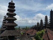 Piękna Pura Besakih świątynia w Bali wyspie obrazy royalty free