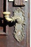 Piękna retro drzwiowa rękojeść Obrazy Stock