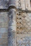 Piękna romańszczyzny kolumna w Rioux Obrazy Royalty Free