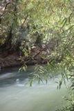 Piękna rzeka w przyjemnym wiosna dniu zdjęcia stock