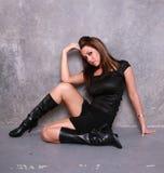 piękna seksowna kobieta fotografia stock