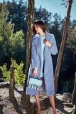 Piękna seksowna kobieta splendoru mody modela odzież elegancka Zdjęcie Stock