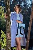 Piękna seksowna kobieta splendoru mody modela odzież elegancka Obraz Stock