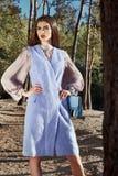 Piękna seksowna kobieta splendoru mody modela odzież elegancka odziewa Fotografia Stock